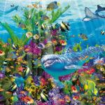 imagen de una escena bajo el mar